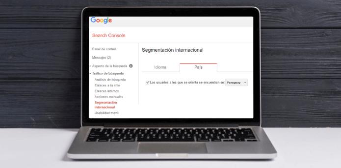 Comprobar hreflang con la search console